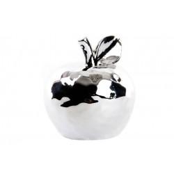 Figura manzana decoracion porcelana 8x9 cm