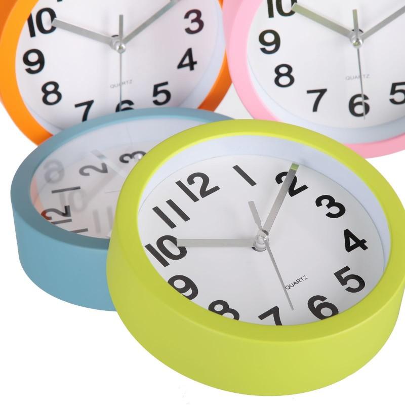 Reloj pared moderno liso pl stico 15cm ideal para cocina - Relojes de pared cocina ...