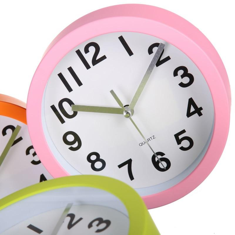 Reloj pared moderno liso pl stico 15cm ideal para cocina - Relojes de cocina modernos ...