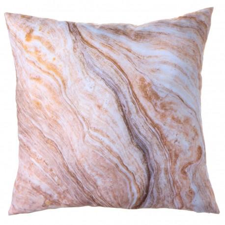 "Cojín moderno ""Marble"" beige 45 x 45 cm ideal para dormitorio fantasy"