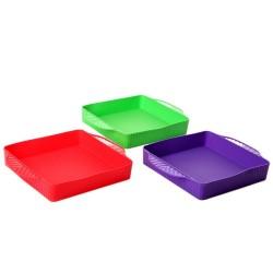 Molde de silicona para tartas 29 x 24 x 4,50 cm