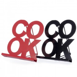 Atril plegable moderno metal 22,50 x 4 x 25,80 cm ( juego de 2 atril ) Oferta especial 2x1