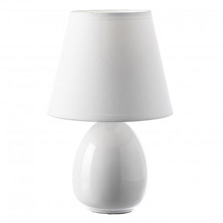 Lámpara para mesita de noche moderna blanca de cerámica para dormitorio Fantasy