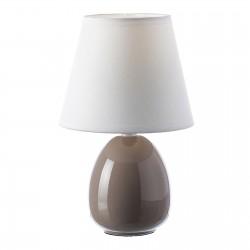 Lámpara para mesita de noche moderna beige de cerámica para dormitorio Bretaña
