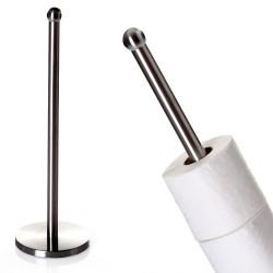 Soporte papel wc metal baño 15,50 x 15 x 48 cm .