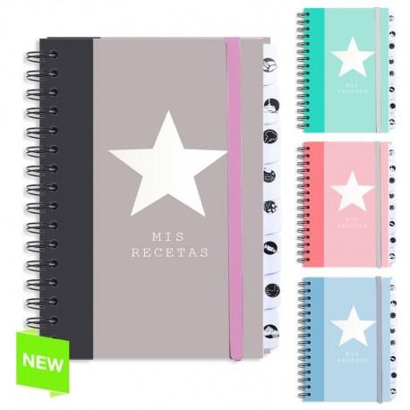 Libro recetas original estrella color