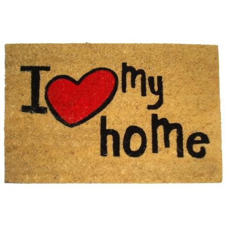 Felpudo diseño original MY HOME 40x60 cm