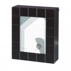 Caja de llaves moderna negra de madera para la entrada Factory