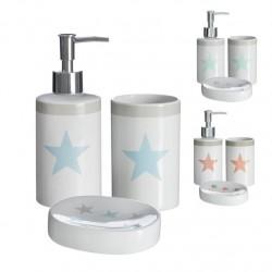 Accesorios de baño modernos estrella de cerámica para cuarto de baño Fantasy