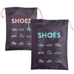 """Bolsas de viaje para zapatos 30x40 cm """"""""Pack 2 bolsas"""""""""""