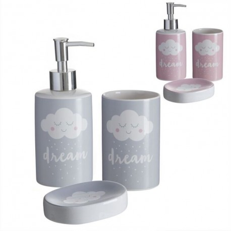 Accesorios de baño modernos nubes de cerámica para cuarto de baño infantil