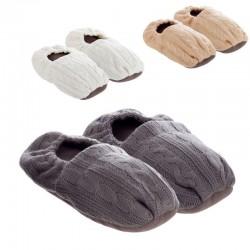 Zapatillas térmicas de semillas para microondas