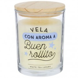 "Vela aromatica ""BUEN ROLLITO"" duracion 70 HORAS"