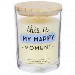 "Vela aromatica ""HAPPY"" duracion 70 HORAS"