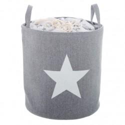 Pongotodo diseño estrella color gris .
