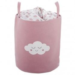 Pongotodo diseño infantil nubes rosa.