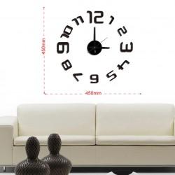 Reloj Adhesivos de pared eva/pp acolchado 45x45 cm