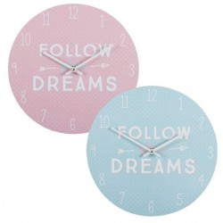"Reloj de pared diseño original ""FOLLOW"""