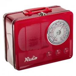 Maletín metal radio vintage .