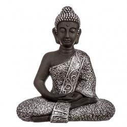 Figura buda sentado resina 56 cm .