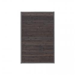 Alfombra pasillera industrial gris de bambú de 60 x 90 cm Factory