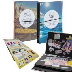 Album fotos scrapbook con stickers para hacer tu propio album scrapbooking .