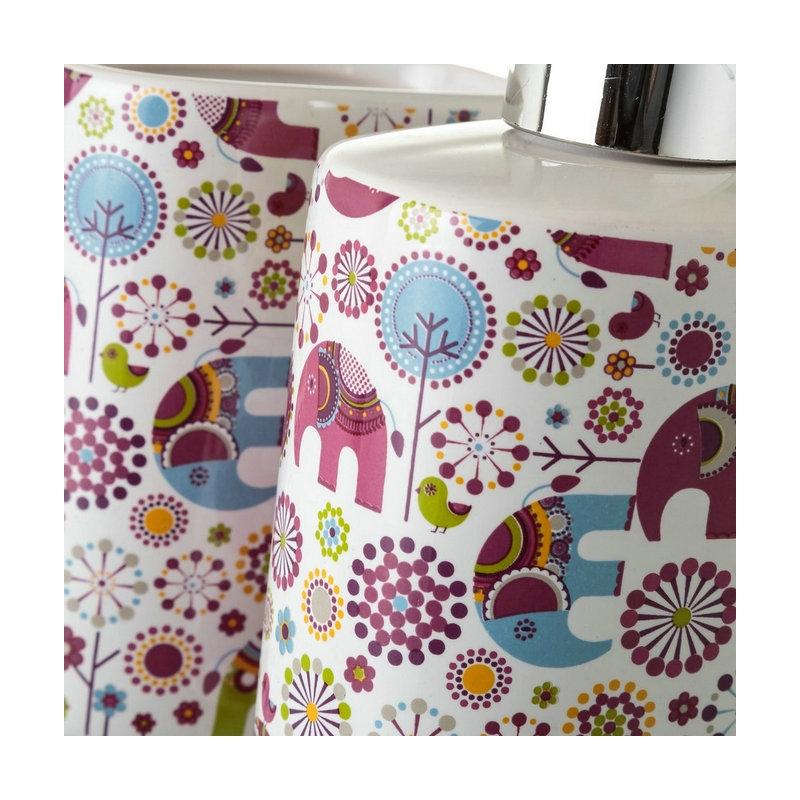 Set de baño infantil elefantes para cuarto de baño .dcasa.es