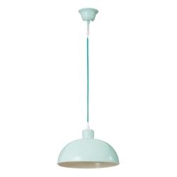 Lámpara de techo vintage verde de metal para cocina Factory