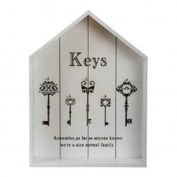 Cuelga llaves de madera casa keys .