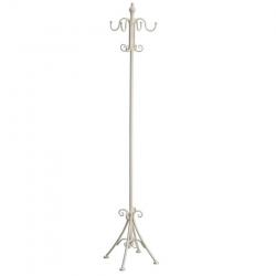Perchero de 8 brazos clásico beige de metal para la entrada de 147 cm Fantasy