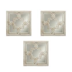 Espejos de pared árabes blancos para salón de 25 cm Arabia