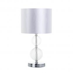 Lámpara de sobremesa moderna transparente de cristal para salón Fantasy