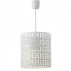 Lámpara de techo árabe blanca de metal para decoración Arabia