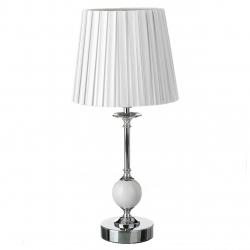Lámpara de mesa árabe blanca de metal para dormitorio Fantasy