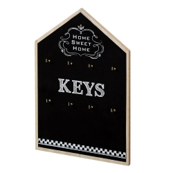 Cuelga llaves de madera metal casa keys .