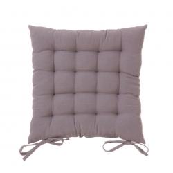 Cojín de 40x40 moderno gris de algodón / poliéster para salón Factory