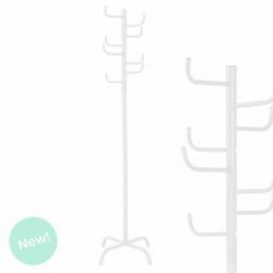 Perchero de pie blanco diseño cactus 175 cm .