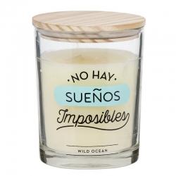 """Vela aromatica """"SUEÑOS"""" duracion 70 HORAS"""