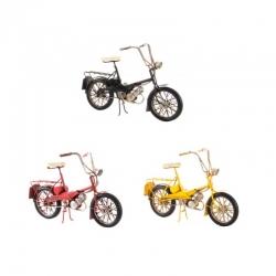 Bicicleta metal decorativa retro 27x12x18 cm