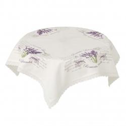 Mantel mesa provenzal lila lavanda 85x85 cm