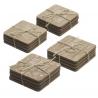 Posavasos madera super original con frases - pack 16 posavasos .