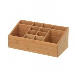 Organizador original nórdico marrón de bambú para cocina Basic