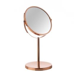 Espejo de 2 aumentos moderno cobre de metal para cuarto de baño Arabia