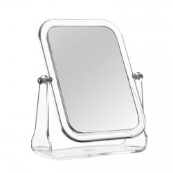 Espejo de 3 aumentos clásico transparente de poliestireno para baño Basic