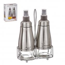 Aceitera y vionagrera spray con soporte acero en caja