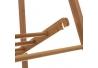 Perchero de suelo nórdico marrón de bambú para dormitorio de 158 cm Basic