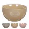 Pack 3 bol ceramica home sweet home