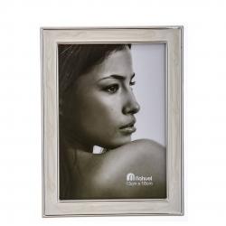 Portafoto acero nacarado 13x18 cm