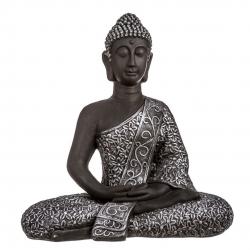 Figura buda de suerte sentado resina grande 66 cm de altura