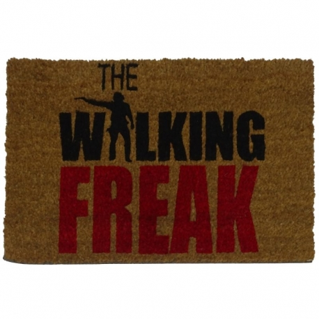 Felpudo con Diseño Walking Freak 60 x 40 cm